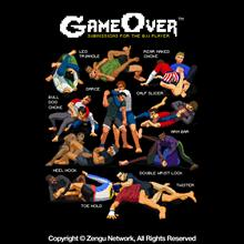 "Newaza ""Game Over"" Shirt"